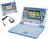 限定セット!ディズニー&ディズニー/ピクサーキャラクターズ パソコンとタブレットの2WAYで遊べる! ワンダフルドリームタッチパソコン+ACアダプター