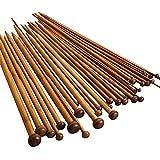 NUOMI 編み棒 遊心 硬質編針 36本針 竹製 2.0mm-10.0mm 編み棒/硬質竹/編み物/レクリエ