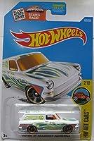 Hot Wheels 2016 HW Art Cars Exclusive Custom '69 Volkswagen Squareback [White] 192/250 [並行輸入品]