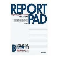 コクヨ レポートパッド表紙巻き B5 B罫 50枚 レ-735B / 10セット