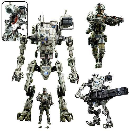 Titanfall IMC Stryder 1  12Scaleアクションフィギュア