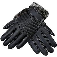 BETTER YOU (ベター ュー) 手袋 メンズ グローブ オートバイ 自転車 バイク 防水 レザー 暖かい 冬用