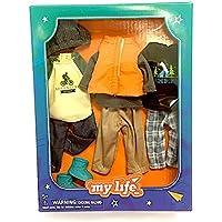 My Life as Miniアウトドア好きBoy Outfits – Set of 3服装フィット7インチMy Life as Dolls