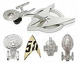 ■スタートレック■STAR TREK ■50周年記念 宇宙艦隊 ピンセット ■50th Anniversary Pin Set - Starfleet ■CBS スタジオ オフィシャルグッズ ■CBS Studios INC. All rights reserved.