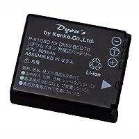 ENERG デジタルカメラ用バッテリー Panasonic DMW-BCD10対応 LUMIX TZ1/TZ3用 P-♯1040
