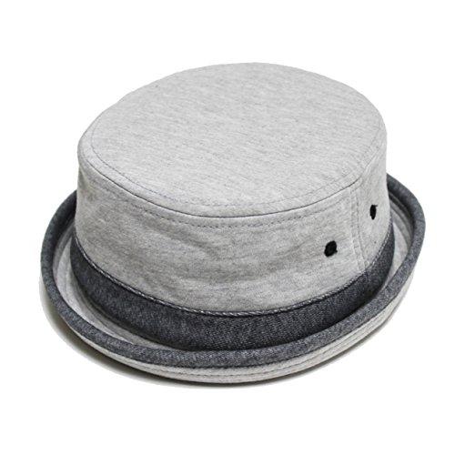 (ルーベン) 【RUBEN】 大きいサイズ対応 SWEAT PORK PIE HAT スウェット ポークパイハット