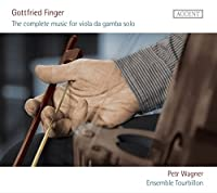 G.フィンガー : ヴィオラ・ダ・ガンバ (Gottfried Finger : The complete music for viola da gamba solo / Petr Wagner, Ensemble Tourbillon) [輸入盤]
