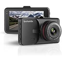 ドライブレコーダー HD1080Pフル 車載カメラ Gセンサー 3インチビデオカメラ 140度広角 循環ループ録画 防犯駐車監視機能(黒い)