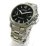 [パネライ]PANERAI 腕時計 PAM00050 ルミノールマリーナ 黒文字盤 BOX 保証書 メンズ 中古