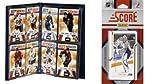NHL Nashville Predators Licensed 2011スコアチームセットおよびストレージアルバム
