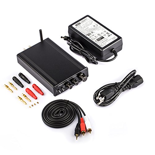 LEPY Hi-Fi ステレオアンプ デジタルアンプ LP-M3 パワーアンプ 36V 5Aアダプター付属 拭き布付き