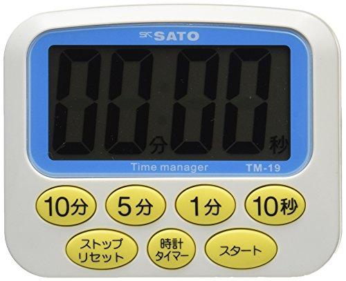 SATO 大型表示 デカタイマー TM-19 1709-00