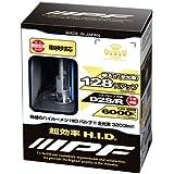 IPF ヘッドライト HID D2S D2R 純正交換 6000K 3200ルーメン XGH60