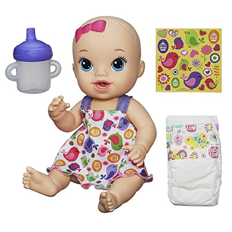 Baby Alive Sips 'n Cuddles Doll baby birdy dress (Blonde) [並行輸入品]