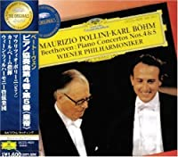BEETHOVEN: PIANO CONCERTOS NO.4 & NO.5, EMPERER(remaster)(re by POLLINI & BOHM & VPO (2009-10-21)