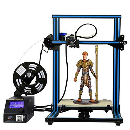 「新機種」HICTOP 3Dプリンター Reprap Prusa i3 DIYキット未組立 最大印刷サイズ 300*300*400mm アルミニウム 3dp-20