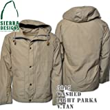 Washed Light Parka 3015: Vintage Tan