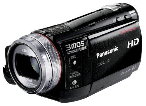 Panasonic デジタルハイビジョンビデオカメラ ブラック HDC-SD100-K