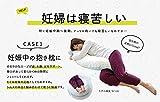 サンデシカ 妊婦さんのための 洗える抱き枕 ミントドット 【日本製】4251-8888-54