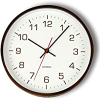KATOMOKU plywood wall clock 4 スイープ(連続秒針) km-44B φ252mm