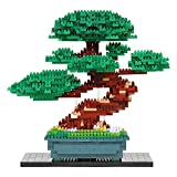【Amazon.co.jp限定】 ナノブロック 盆栽 松 デラックスエディション ver.2.0 NB-039A