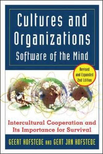 Download Cultures and Organizations: Software for the Mind 0071439595