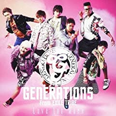 GENERATIONS from EXILE TRIBE「ANIMAL (English version)」のジャケット画像