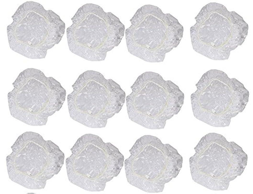 模倣茎電気技師イヤーカバー イヤーキャップ 12枚 6ペアセット ( ヘアカラー や水濡れ防止に保護に )