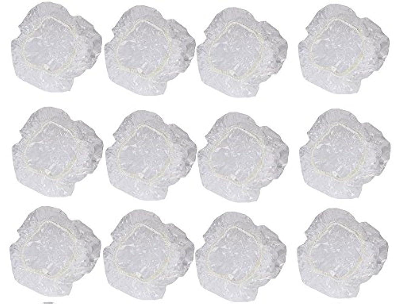 たっぷり変位聴覚イヤーカバー イヤーキャップ 12枚 6ペアセット ( ヘアカラー や水濡れ防止に保護に )