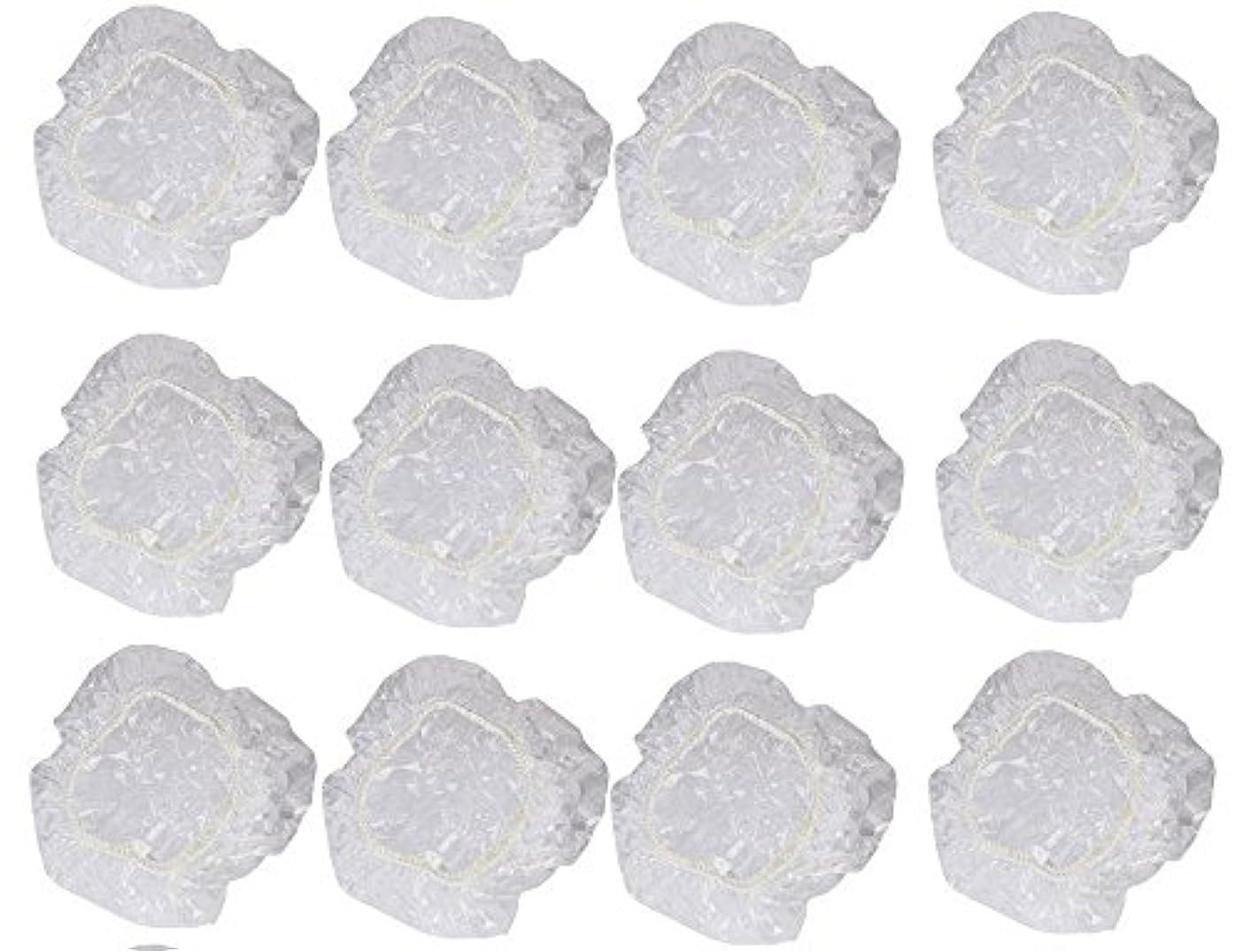 夕食を作る重なる楽観的イヤーカバー イヤーキャップ 12枚 6ペアセット ( ヘアカラー や水濡れ防止に保護に )