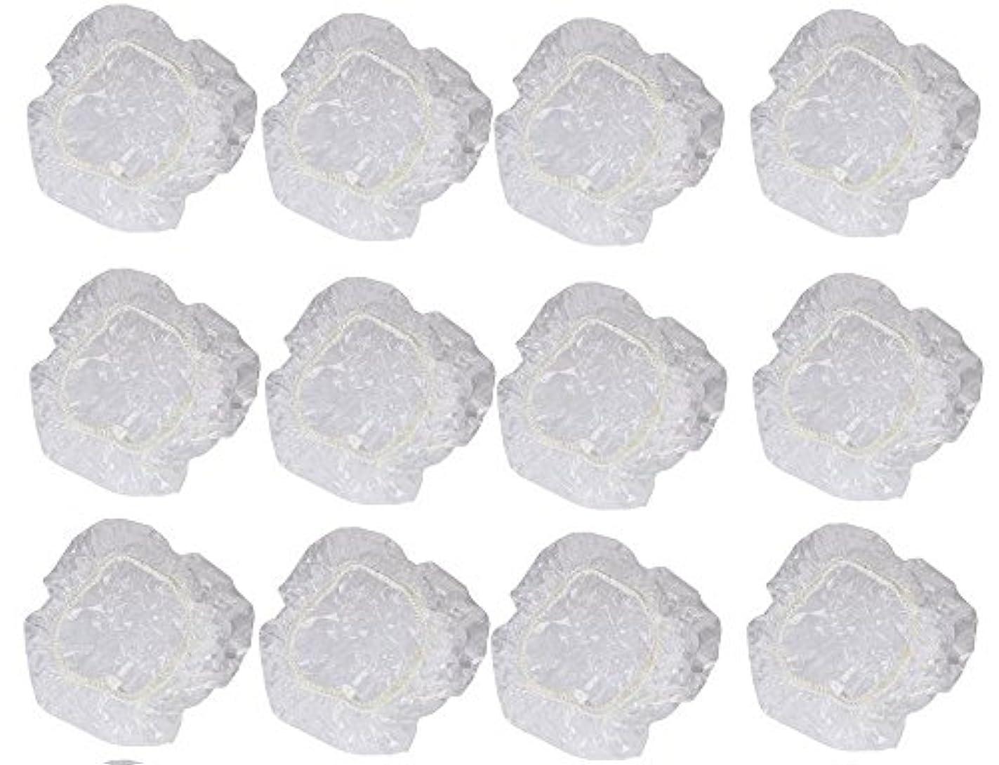 寝室居住者食べるイヤーカバー イヤーキャップ 12枚 6ペアセット ( ヘアカラー や水濡れ防止に保護に )