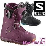 サロモン IVY BOA STR8JKT BLACK L39431000 [2017-201...
