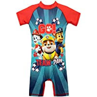 Paw Patrol Boys Swimsuit Red Size 4