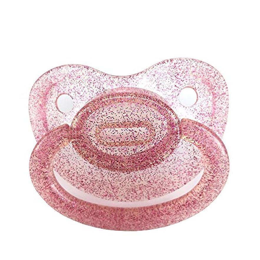 カロリー人道的慣らす大人のおもちゃのためのABDLおしゃぶり工芸品 (曇った赤)