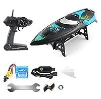 RCボートプールおもちゃ、子供、子供、大人、大人のための遠隔制御水ボート電気レーシング玩具、最大25KM/H,B