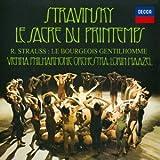 ストラヴィンスキー:バレエ音楽「春の祭典」/R.シュトラウス:町人貴族