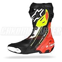 alpinestars(アルパインスターズ)バイクブーツ ブラック/レッド/イエローフロー 46/30.0cm SUPERTECH-R(スーパーテックR)ブーツ0015 1691310546