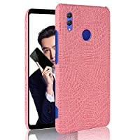 Happon シェル の Huawei Honor Note 10, ファッション スクラッチ耐性 衝撃 吸収 耐久保護ケース 保護 シェル の Huawei Honor Note 10 Pink