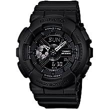 Casio Baby G Women BA110BC-1A Year-Round Analog-Digital Automatic Black Watch