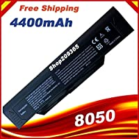New Laptop Battery for Packard bell BP-8050 BP-8X66 MITAC BP-8050P Winbook W300 W360 W340 W320 Advent 8050 Series,
