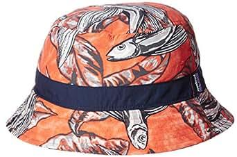(パタゴニア) patagonia Wavefarer Bucket Hat 29155 HWCO Hawaiian Fish: Cusco Orange//Orange L