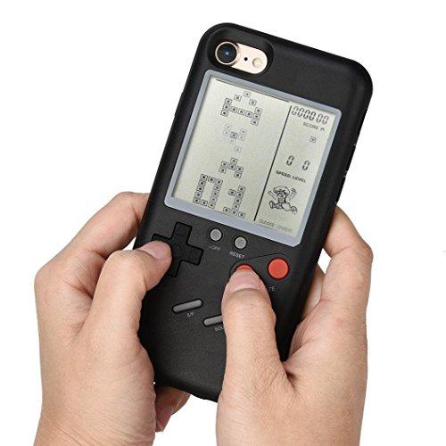 テトリス ゲームボーイ風 カバー ケース iPhone7 iPhone8,J...