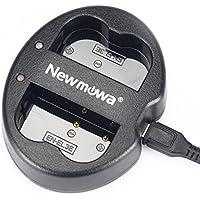 Newmowa EN-EL3 EN-EL3E 対応 USB充電器 デュアルチャネル バッテリーチャージャー 互換急速充電器 Nikon EN-EL3 EN-EL3E Nikon D50 D70 D70s D80 D90 D100 D200 D300 D300S D700