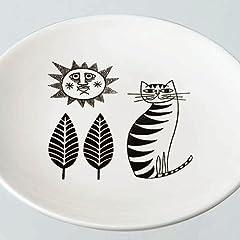 confiture オールドカッパーラウンドプレート  CAT (IVORY)