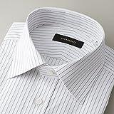ビサルノ(VISARUNO) 【首まわり35~50cm】ラクチンすっきりYシャツ(綿100%素材)【30ブラウン/【細身】35(75~77)】