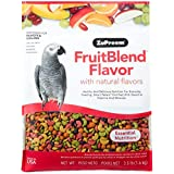 ZuPreem FruitBlend Flavor Pellets Bird Food for Parrots and Conures, 3.5 lb bag | Powerful Pellets Made in the USA, Naturally
