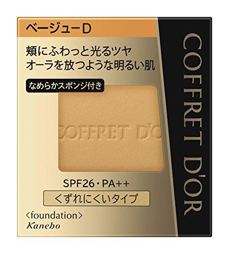 コフレドール パウダーファンデーション ビューティオーラパクトUV ベージュD SPF26・PA++ 9.5g