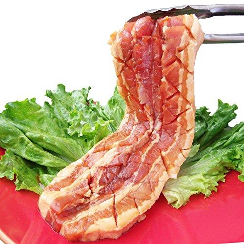 豚カルビの照り焼きメガステーキ 250g 買えば買うほどオマケ付 《*冷凍便》