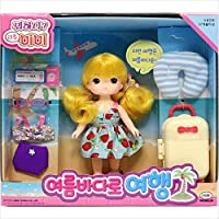 Mimiworld Little Mimi Travel to the Summer Sea おもちゃ [並行輸入品]