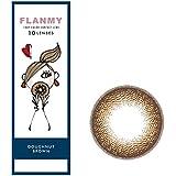 FLANMY フランミーワンデー 10枚入 【ドーナツブラウン】 ±0.00(度なし)